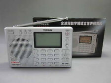 TECSUN PL-380 FM Stereo/SW/MW/LW With ETM Function DSP World Band Radio (Silver)