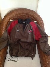 Rare Vintage adidas tampa bay buccaneers football pullover jacket size M Men's