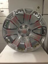 4 NEW 2015 GMC Wheels 22x9 Silver OE Yukon Sierra Silverado Denali  Tahoe