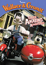 Wallace and Gromit: Three Amazing Adventures, New DVD, Wallace & Gromit,