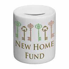 New Home Fund Novelty Ceramic Money Box
