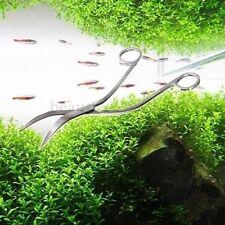 acciaio inox acquario piante WAVE Shape Forbici Taglio Cutter CESOIE Scissors