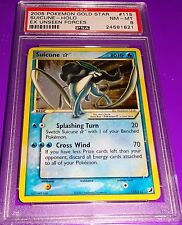 Pokemon Gold Star Suicune Holofoil Psa 8