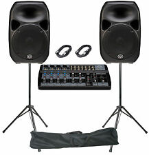 "WHARFEDALE TITAN VOCAL/BAND 700w PA SYSTEM - 15"" - 8 CHANNEL"