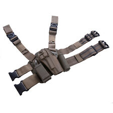 Military Special Forces Quick Tactical Right Hand Paddle& Leg Belt Hard Drop Leg