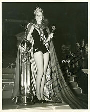 REPRINT - MISS AMERICA 1941 ROSEMARY LAPLANCE 1 autographed signed photo USA