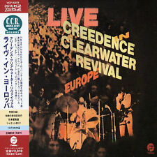 1 CENT CD Live in Europe - Creedence Clearwater Revival JAPAN/OBI/MINI LP SLEEVE