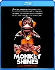 MONKEY SHINES AN EXPERIMENT IN FEAR New Sealed Blu-ray George A Romero