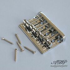 CORDIER BASSE style GOTOH Vintage Bass Bridge RAIL BRASS CHROME MadeInKorea Eco