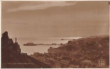 BR68371 from castle hill  hastings  uk  judges 84 real photo