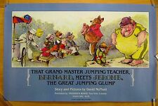 THAT GRAND MASTER JUMPING TEACHER BERNARD MEETS JEROME GREAT GLUMP Print 1982