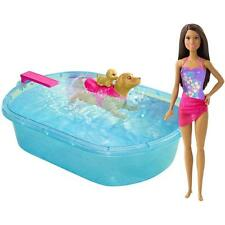 (NEW SEALED) BARBIE PUP SWIMMIN POOL PUPPY AFRICAN AMERICAN DOLL AA WATER TOY