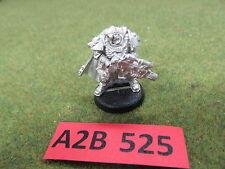 Warhammer 40K unprimed metal Space Marine Scout Sergeant Telion