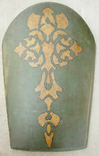 Disney Prince of Persia Movie Prop Green Leather Shield LARP SCA Medieval F