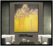 ABSTRACT MODERN PAINTING CANVAS WALL ART LARGE 36in US SIGNED ELOISE