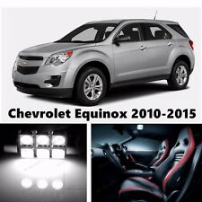 14pcs LED Xenon White Light Interior Package Kit for Chevrolet Equinox 2010-2015