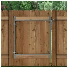 Outdoor Steel Fence Gate Frame Hardware Parts Repair Hinges Kit Accessories New