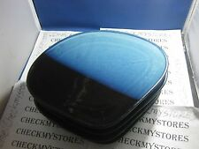 4 COMMERCIAL RESTRAURANT GRADE BLUE BLACK china sushi serving  plates