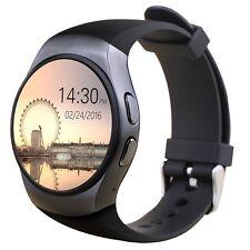 Smartwatch KW18 con slot per scheda sim  compatibile Android e IOS  cardio