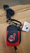 Cleveland Indians MLB Purse Plus Touch Phone  ID Wallet Charm 14 Gift Bag