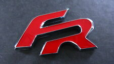 FR BADGE BLACK RED SEAT RACING CUPRA IBIZA LEON TDI