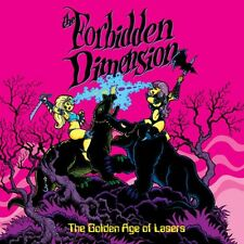 Forbidden Dimension - The Golden Age of Lasers RARE OOP Canadian Purple Vinyl LP