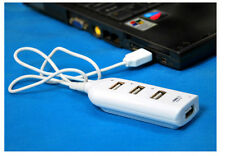 High Speed 4 Port USB 2.0 Multi Hub Expansion Splitter For PC Laptop Notebook