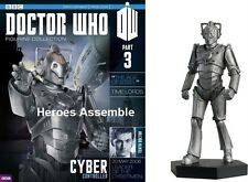 OFFICIAL DOCTOR WHO FIGURINE COLLECTION #3 CYBER CONTROLLER EAGLEMOSS MAGAZINE