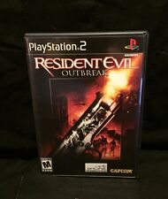 Resident Evil Outbreak Sony PlayStation 2, 2004 Used Great Condition Black Label