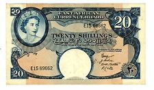 East Africa ... P-39 ... 20 Shillings ... ND(1958-60) ... *VF-XF*