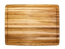 Proteak Model 108 Teak Cutting Board - 24 x 18 x 1.5 Inch - Warehouse Special