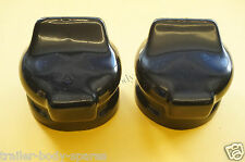 FREE 1st Class Post -2 x Covers for 7 Pin & 13 Pin Towing Socket Trailer Caravan