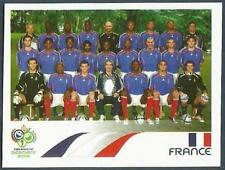 PANINI FIFA WORLD CUP-GERMANY 2006- #454-FRANCE TEAM PHOTO