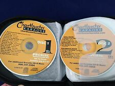 Chartbuster Karaoke 10 Disc 2001 DEMO Sampler Set 6+6 Prodisc CD+G