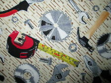 TOOLS SAW HAMMER WRENCH MENS COTTON FABRIC BTHY