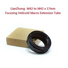 LianZhong M42 to M42 x 17mm Focusing Helicoid Macro Extension Tube