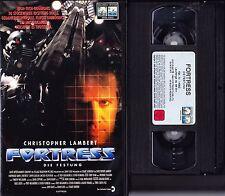 VHS Fortress - Die Festung - Christopher Lambert - FSK 18 - Videokassette