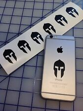 6 SPARTAN MOLON LABE AMERICAN SHAPE DIE CUT DECAL LAPTOP CELL PHONE IPOD STICKER