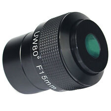 2'' Telescopio Oculare Fully Multi-Coated Green Film F15mm Ultra Wide Angolo 80°