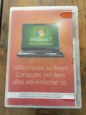 Windows 7 Home Premium, 64 bit mit Holo DVD, Deutsch ,SB Ware mit MwSt Rechnung