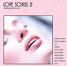 FREE US SH (int'l sh=$0-$3) NEW CD Various Artists: Love Songs 2: Expressions of