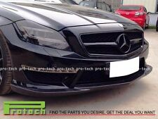 Godhand Style Carbon Fiber Front Lip For Mercedes-Benz W218 CLS63AMG 2011+