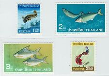 Thailand Siam 1967 Stamp Thai Fishes Complete Set Mint MNH Sc#464-7