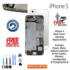 PER iPhone 5 5G Completo Cover Posteriore Alloggiamento Di Ricambio