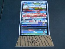 Lot#416 Disney and other family 17 DVDs up bambi pinocchio Movies  ect.