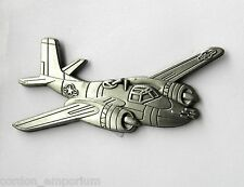 US USAF AIR FORCE AIRCRAFT INVADER A-26 LARGE LAPEL PIN BADGE 2.5 INCHES