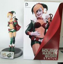 Batman Comics Bombshells HARLEY QUINN STATUE Holiday Variant Dc Direct Rare