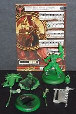 Venator Reiver Officer & Standard Command Attachment Skorne Hordes Mk3 metal