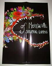 "Of Montreal *Skeletal Lamping* 18x24"" Promo Poster Hissing Fauna The Gay Parade"