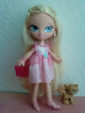 Girlz Girl Bratz Kidz Kid Cloe Doll Blonde Hair Clothes Purse Earrings Shoes Pet